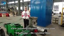 Double screw palm oil expelller machine, palm oil milling machine for sale, factory price