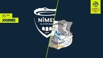 Résumé Nimes Olympique-Amiens SC (3-0)2018-19