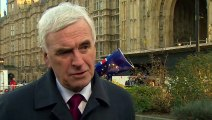 McDonnell: Labour 'hoping' PM can negotiate a better deal
