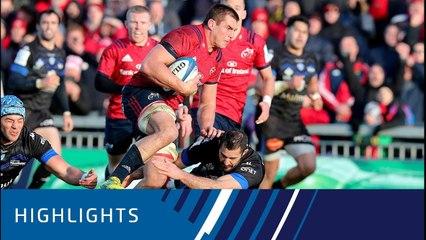 Munster Rugby v Castres Olympique (P2) - Highlights 09.12.2018