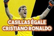 Iker Casillas égale Cristiano Ronaldo