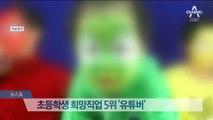 초등생 꿈 '유튜버' 첫 10위권 진입