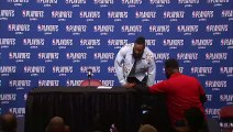 James Harden & Chris Paul Postgame Conference   Jazz vs Rockets Game 2   May 2, 2018   NBA Playoffs