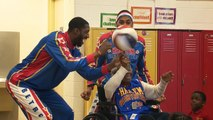 109-Jährige tanzt mit den Harlem Globetrotters