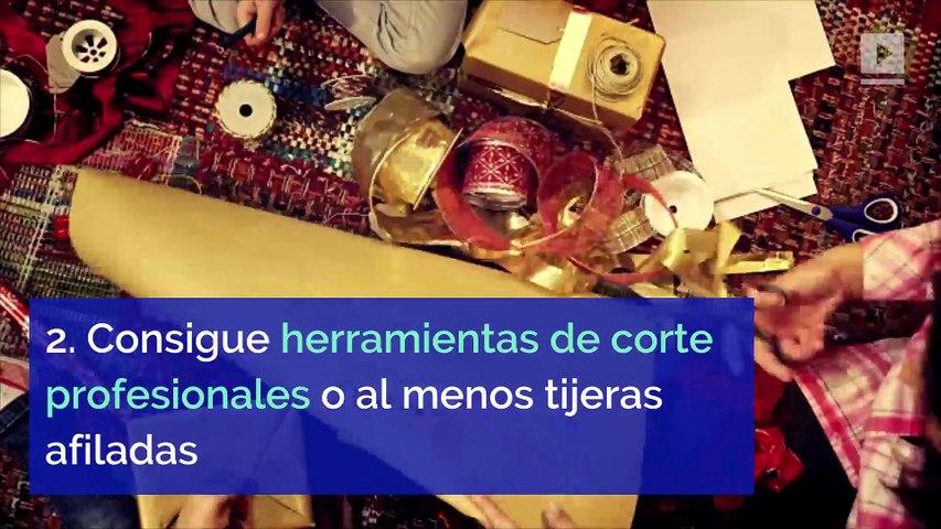 5 ideas para envolver regalos de Navidad