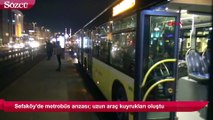 Son dakika haberi… Sefaköy'de metrobüs arızası!