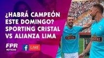 Sporting Cristal vs Alianza Lima. ¿Habrá campeón este domingo?
