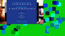 Full Trial Consolidating Colleges and Merging Universities: New Strategies for Higher Education