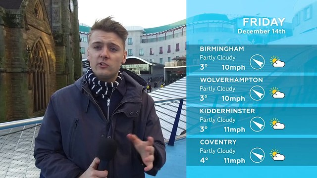 WEATHER: December 14th 2018