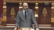 Motion de censure : déclaration d'Édouard Philippe devant l'Assemblée nationale