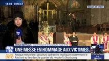 Une messe a lieu à la cathédrale de Strasbourg en hommage aux victimes de l'attaque
