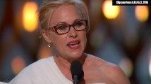 Patricia Arquette appelle à l'égalité des salaires ente hommes et femmes