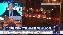 Attaque de Strasbourg: opérations policières terminées au Neudorf (1/3)