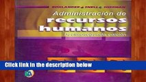 Popular to Favorit  Administracion de Recursos Humanos  Unlimited