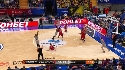 EuroLeague 2018-19 Highlights Regular Season Round 12 video: CSKA 88-74 Khimki