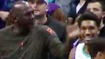 Michael Jordan SLAPS Malik Monk On The Head After Technical Foul!