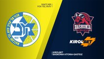 Maccabi FOX Tel Aviv - KIROLBET Baskonia Vitoria-Gasteiz Highlights | Turkish Airlines EuroLeague RS Round 12