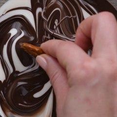 Pretzel Brownies de Chocolate