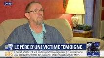 Strasbourg: le père d'une victime témoigne