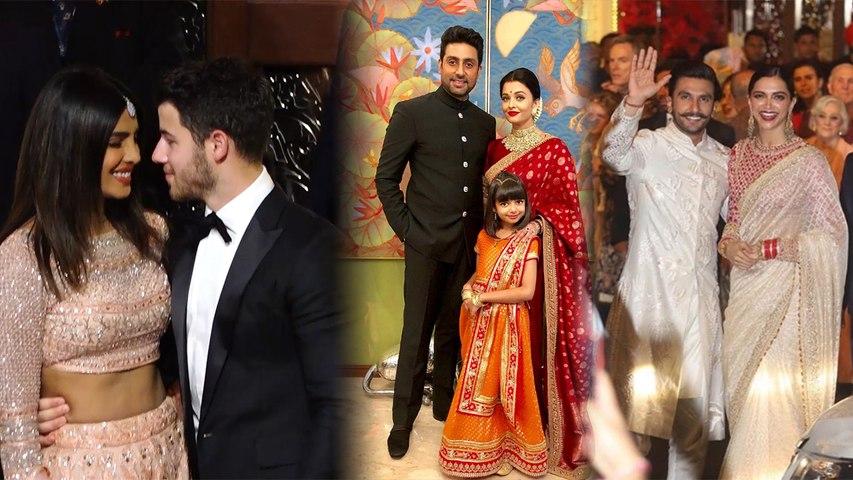 Isha Ambani Wedding : Priyanka to Deepika; Bollywood Best dress Couples at Royal Wedding | Boldsky