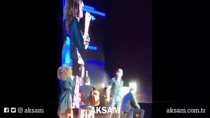 Suudi Arabistan'daki konser görüntüleri şaşırttı