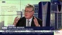 """Le Haut-commissaire à la réforme des retraites Jean-Paul Delevoye revient sur certains enseignements de l'enquête Fondapol """"Les Français jugent leur système de retraite"""""""