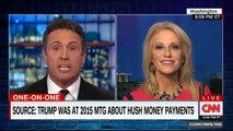 Kellyanne Conway And Chris Cuomo Clash In Heated TV Exchange