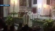 Quand un prêtre reprend les chants des supporters du Napoli