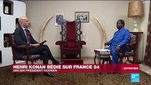 """Henri Konan Bédié : """"Il y a eu des manquements au bon déroulement de notre alliance"""""""