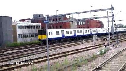Trains at Romford Railway Station December 2018