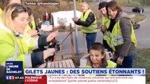 """Cet enfant fête son anniversaire avec les """"Gilets Jaunes"""" - ZAPPING ACTU HEBDO DU 15/12/2018"""