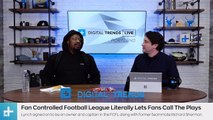 NFL Running Back, Marshawn Lynch, Talks about  His New Football League