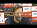 Jurgen Klopp Full Pre-Match Press Conference - Liverpool v Manchester United - Premier League