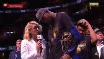 Kevin Durant - Finals MVP   June 8, 2018   NBA Finals