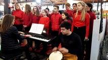 La chorale de la MJC savouret à Epinal