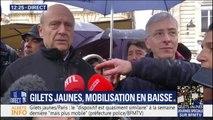 """Alain Juppé (LR) appelle les gilets jaunes """"à défiler de manière pacifique"""""""