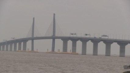 China dice que el mayor puente del mundo respeta el ambiente y será rentable