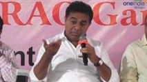 KTR 'Meet The Press' : KTR Stunning Counter On Lagadapati Survey | Oneindia Telugu