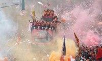Juarai Liga 1, Pawai Kemenangan Persija Jakarta Berlangsung Meriah