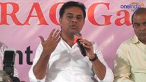 KTR Meet The Press : KTR Sensational Comments On Chandrababu Naidu | Oneindia Telugu