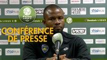 Conférence de presse Red Star  FC - FC Sochaux-Montbéliard (3-0) : Faruk HADZIBEGIC (RED) - Omar DAF (FCSM) - 2018/2019