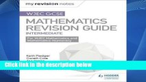 Library  WJEC GCSE Maths Intermediate: Revision Guide (My Revision Notes) - Keith Pledger