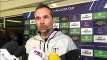 Mola (après la victoire face aux Wasps) : « Il faudra montrer autre chose défensivement au Leinster si on veut exister »