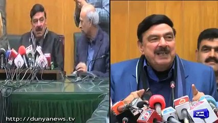 This is what Sheikh Rasheed did to the journalists who viraled his off the record conversation