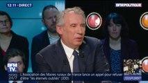 """François Bayrou sur les gilets jaunes: """"la participation est moindre mais les questions posées sont toujours là"""""""