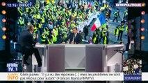 """Gilets jaunes : """"Il y a eu des réponses (...) mais les problèmes ne sont pas résolus pour autant"""", François Bayrou"""