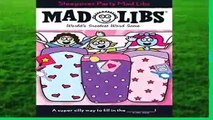 [MOST WISHED]  Sleepover Party Mad Libs (Mad Libs (Unnumbered Paperback)) by Roger Price