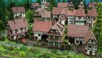 Le train de la Moder - Réseau Modulaire de Hubert et Laurent Bertrand en Alsace à l'échelle H0 - Une vidéo de Pilentum Télévision sur le modélisme ferroviaire avec des trains miniatures