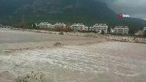 Antalya'da Kuvvetli Yağış...yağış Dev Dalgalar Oluşturdu, Göynük Kanyonu ile Boğaçayı Deresi'nde...