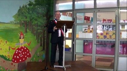 Inauguration de l'extension de l'Ecole du Petit-Bois et de l'Arc-en-ciel